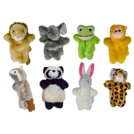 Titere peluche animales